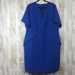 ELOQUII Sheath Peplum Dress Size 16
